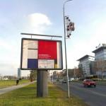 Piet Mondriaan in Belgrade
