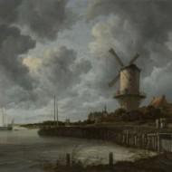 Classic Dutch clouds painted by Van Ruysdael