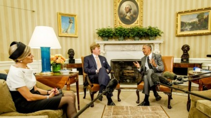 King Alexander, Queen Maxima in the White House (ANP)