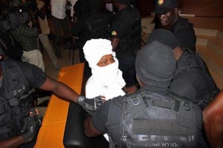 Tsjadische ex-dictator Hissène Habré